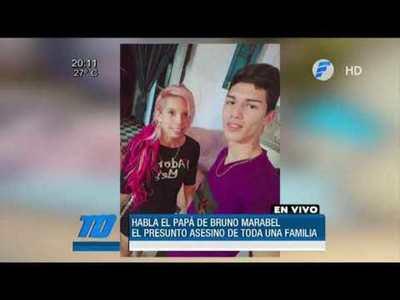 "Padre de Bruno Marabel: ""Que se haga justicia"""