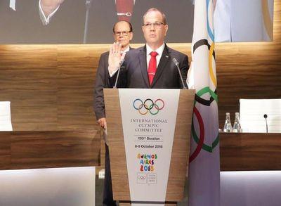 Pérez, electo para el COI