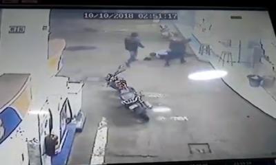 Matan a guardia en asalto