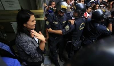 Keiko Fujimori: ordenan su detención preliminar por 10 días