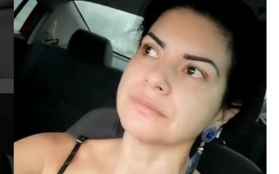 Lorena Azucas Y El Mal Rato Que Vivió En Medio Del Temporal