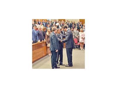 Juran nuevos  ministros de la Corte con promesa de combatir la impunidad