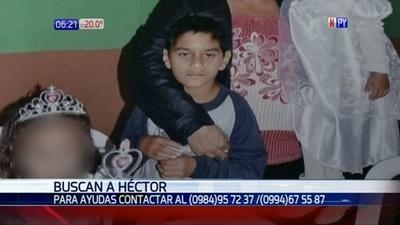 Buscan a niño desaparecido y familiares apuntan al padrastro