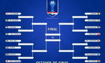 Se conocen los cruces de octavos de final de la Copa Paraguay