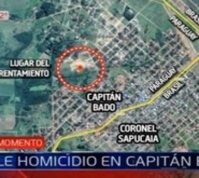 Triple homicidio en Capitán Bado