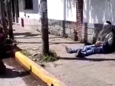 Compatriota casi se prendió fuego en Argentina