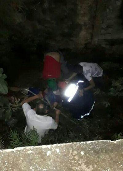 Accidente deja a un joven en grave estado – Prensa 5