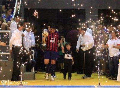 El 'rey' del Fútsal FIFA se exhibió en Caazapá