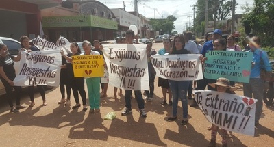 Familiares de Rosario pidieron celeridad a fiscal