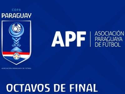 Todo definido para los octavos de la Copa Paraguay