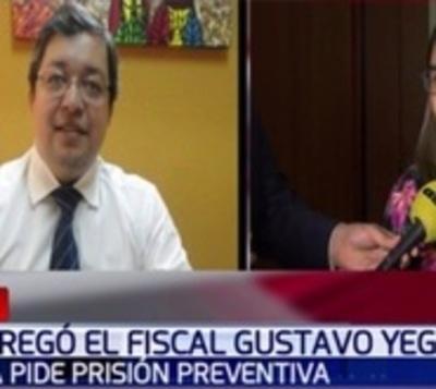 Se entregó el fiscal implicado por el caso 'Cucho'