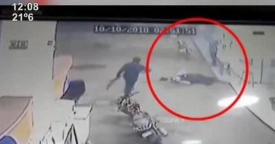 Policía identifica a asesino de guardia de surtidor