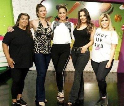 """¡Larissa Riquelme a """"Cuestión de peso""""!"""