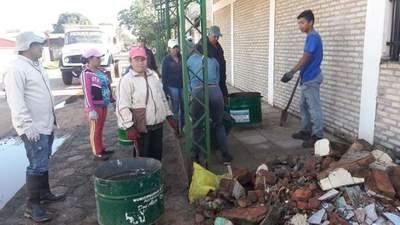 Caaguazú: Realizaron jornada de limpieza en el cementerio municipal – Prensa 5