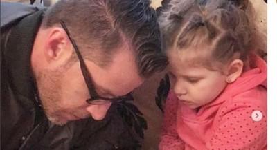 David Dionich Saludó A Su Hija Por Su Cumpleaños
