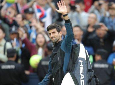 Djokovic, finalista del Masters 1000 de Shanghái