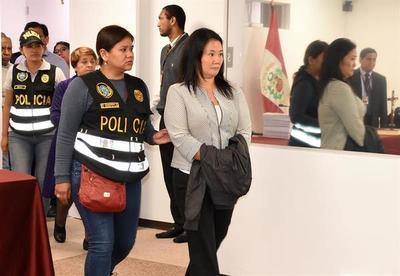 El 75 por ciento de peruanos considera a Keiko Fujimori culpable