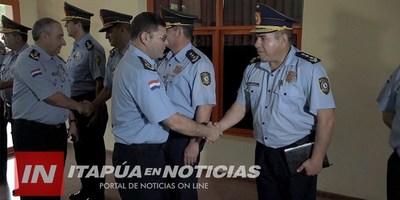COMANDANTE DE LA POLICÍA NACIONAL VISITÓ ITAPÚA.