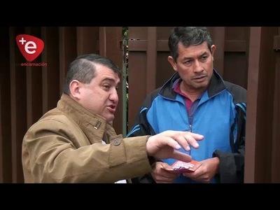Yd verifica obras y pide paciencia a vecinos de calle Sargento Reverchon