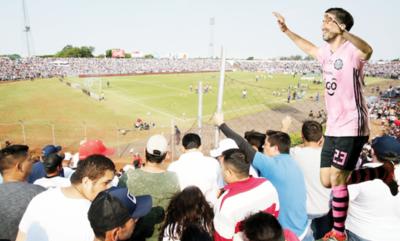 Olimpia será local en Pedro Juan Caballero