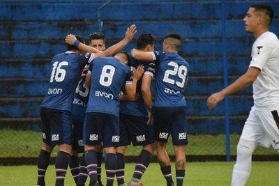 Goles Clausura 2018 Fecha 14: Gral. Díaz 1 – Nacional 2