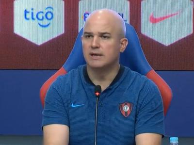 Fernando Jubero, de cara al juego ante Libertad