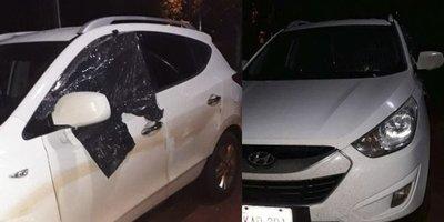 Baleó a su esposa en el auto frente a sus hijos – Prensa 5