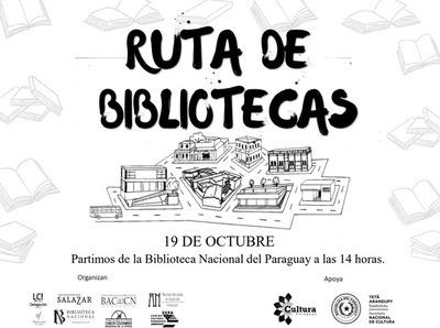 """""""Ruta de las Bibliotecas"""" es declarada de interés cultural por la SNC"""