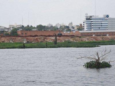 Aguas del río Paraguay superan nivel de alerta en Asunción