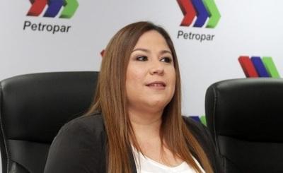 """""""No se hizo absolutamente nada mal"""", asegura presidenta de Petropar"""