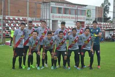 La Selección Sanlorenzana Sub 17 eliminada en penales