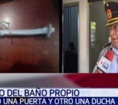 Marginales roban ducha de casa en San Lorenzo
