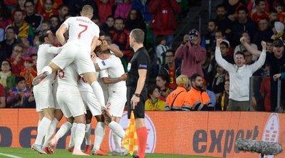 Inglaterra venció de visitante a España