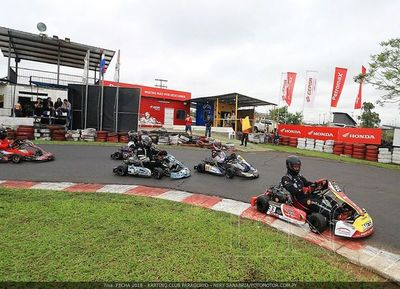 El karting deleitó en Ñu Guasu