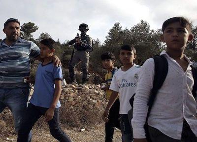 Israel cierra escuela palestina en Cisjordania