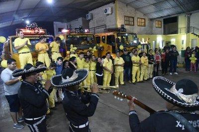 Bomberos amarillos festejan 40º aniversario de su fundación