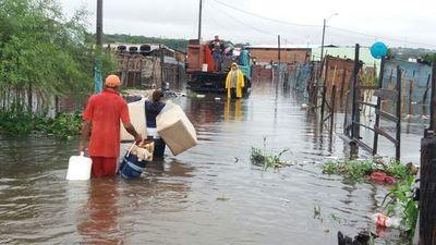 Asunción reporta más de 18.000 evacuados por inundaciones en una semana