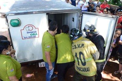 Entredichos entre fiscal y policías en Ypacaraí