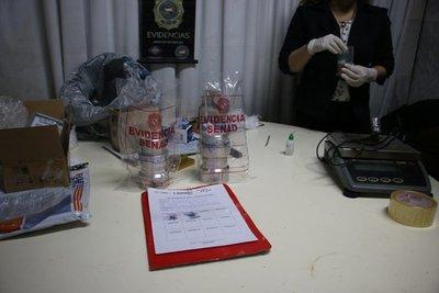 Detectan envío de cocaína en repuestos para China