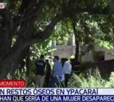 Hallan restos óseos en Ypacaraí que podrían ser de joven desaparecida