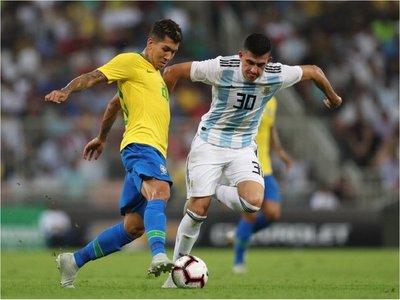 Brasil derrota a Argentina en tiempo de adición