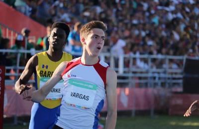 Vargas culminó como mejor sudamericano en prueba de JJOO de la Juventud