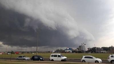 Meteorología emite alerta por tiempo severo