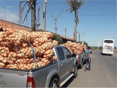 Incautan toneladas de productos de contrabando en Vista Alegre