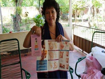 Mujer que venció al cáncer de mama organiza Paseo Rosa en Curuguaty