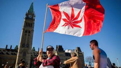 Canadá se convierte oficialmente en el segundo país del mundo en legalizar la marihuana