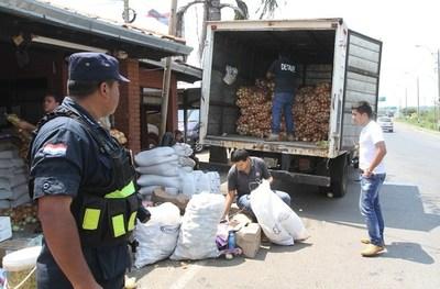 Diputados elevan penas para contrabando de productos frutihortícolas