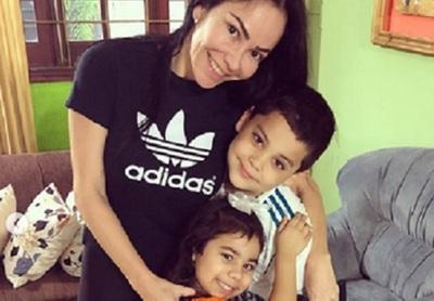 Los hijos de las ex modelos Shirley Reyes y Fátima Godoy se mostraron muy unidos