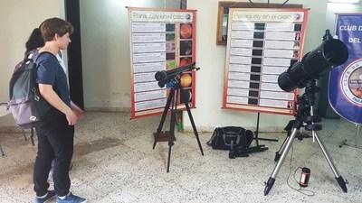 Jóvenes latinoamericanos presentes en Olimpiada de Astronomía y Astronáutica