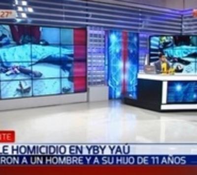 Padre e hijo fueron asesinados a puñaladas en Yby Yaú
